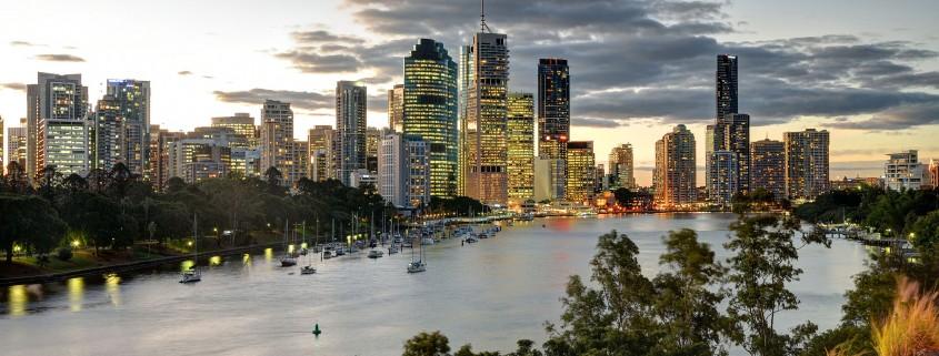 Brisbane's skyline